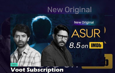 Voot Select Trial -Watch Asur Web Series For Free