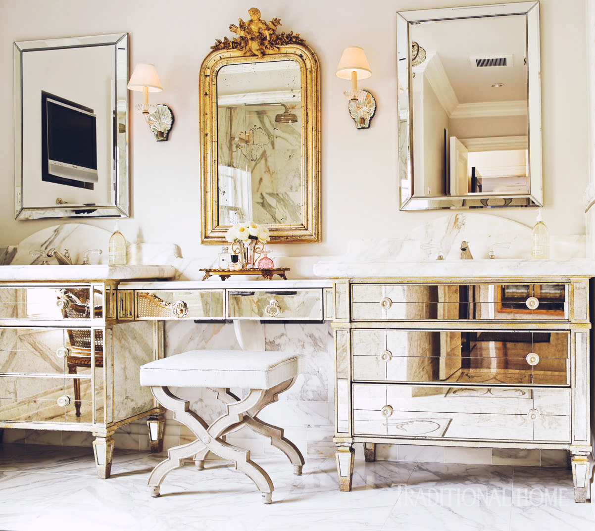 Redux | Décor Inspiration: A Powder Room by Designer Carrie Hayden, Seattle