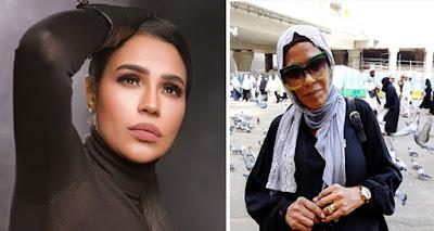 وفاة شقيقة المطربة المصرية الشعبية أمينة بأزمة قلبية حادة