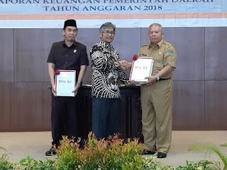 Perdana, Setelah Proses Panjang Tanjab Barat Raihan WTP dari Bpk RI Perwakilan Provinsi Jambi