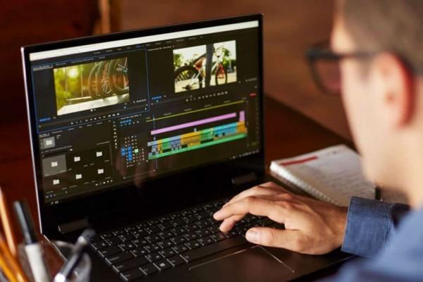 laptop untuk mengedit video