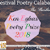 Ken Egbas Poetry Prize 2018: Shortlist Released