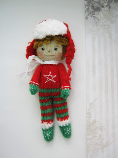 #knitteddolls #dollhandmade #christmastoys