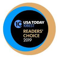 USA Today Readers' Choice Winner