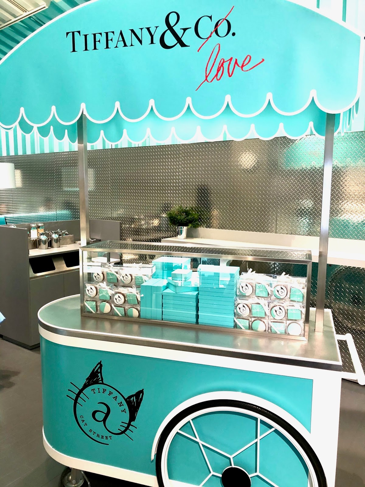 Tiffany & Co Cafe Japan