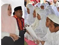 Ribuan Santri Ikut Khataman Al-Quran yang Dihadiri Bupati Bima