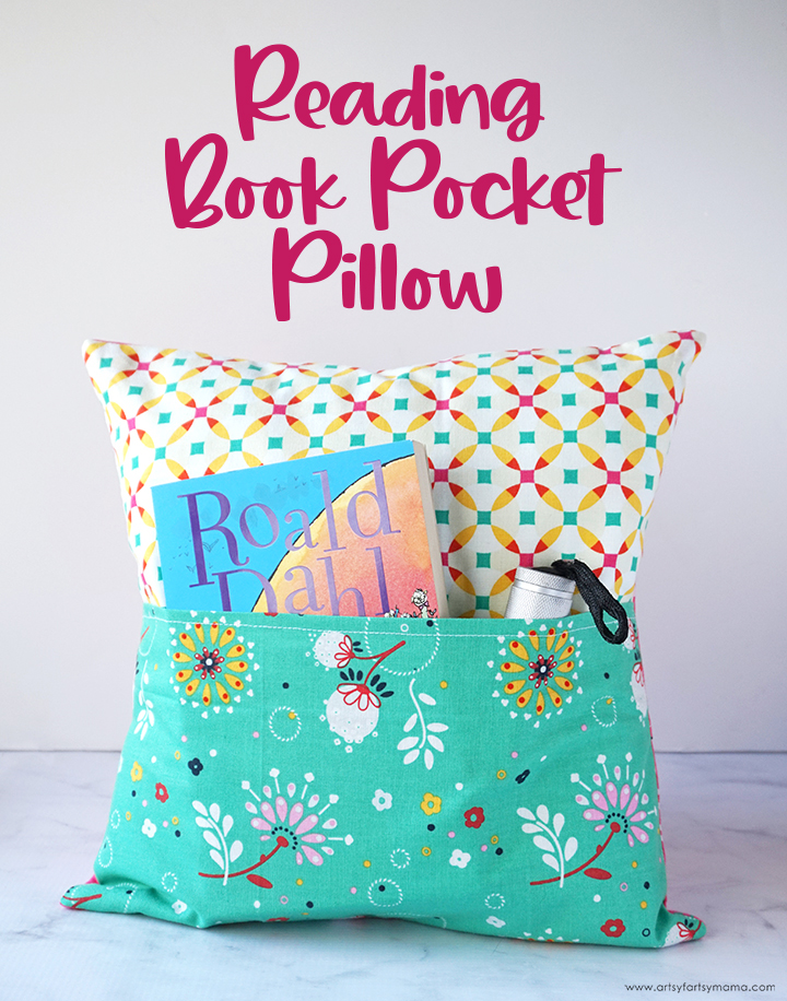 DIY Book Pocket Pillow