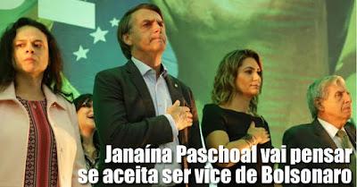 Resultado de imagem para Se Janaina Paschoal não aceitar, Bolsonaro cogita Marcelo Álvaro Antônio como vice