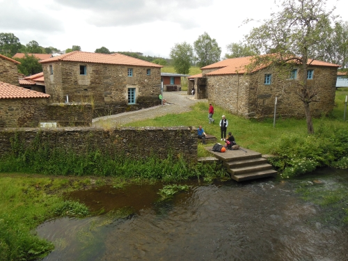 Ribadiso da Baixo, Camino, Jola Stepień