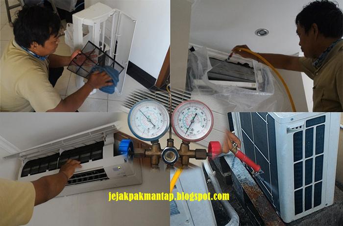 Kumpulan Teknisi Service AC Bintan