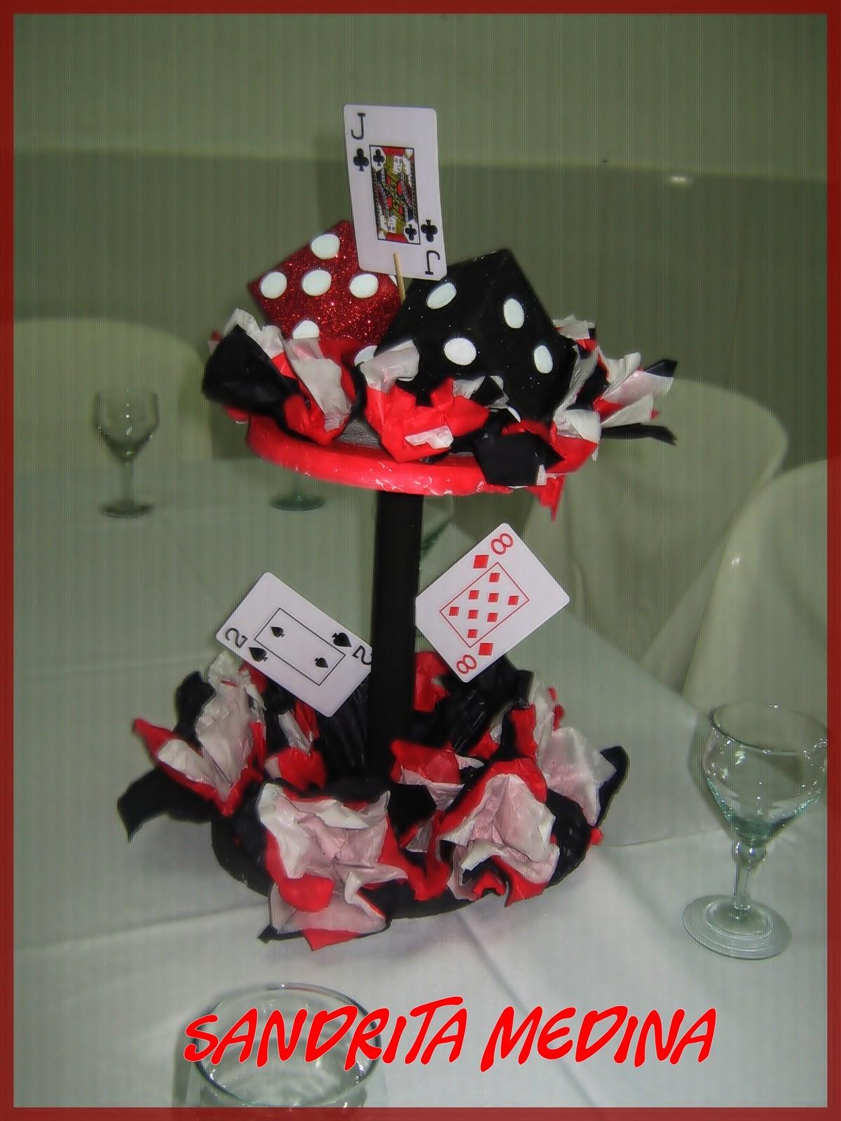 Mi Mundo En Fomi Decoracion De Fiestas Casino