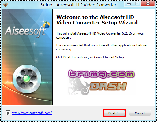 شرح بالصور برنامج Aiseesoft HD Video Converter 6.2.16 لتحويل جميع صيغ الفيديو