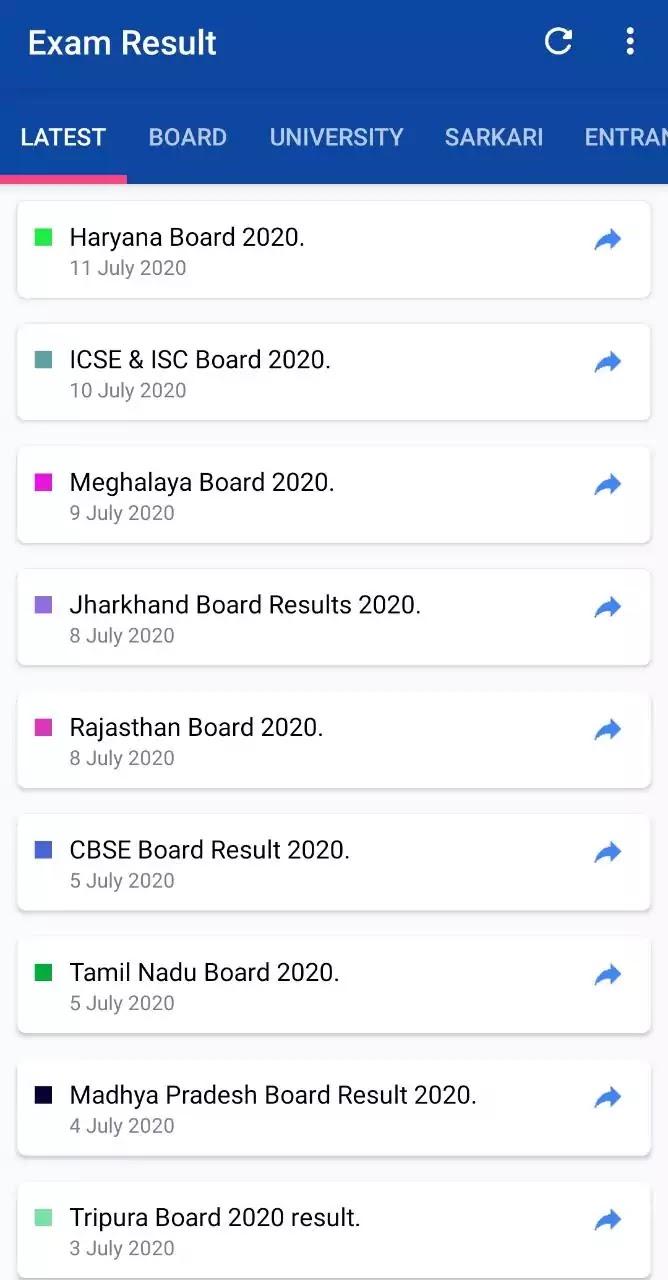 Result देखने वाला Apps cbse board result 2020 result check karne wala apps result app 2020 10th ka result 2020