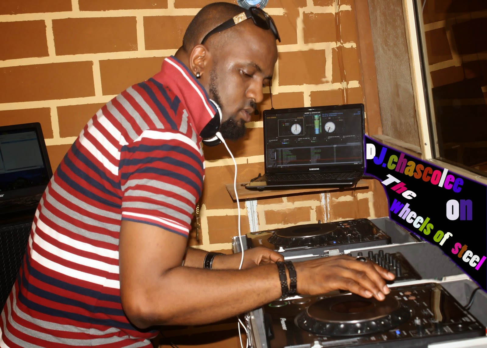 j @DjChascolee Opens New Office And Dj Studio (BOOK Dj Chascolee)