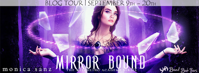 Blog Tour & Giveaway: Mirror Bound by Monica Sanz