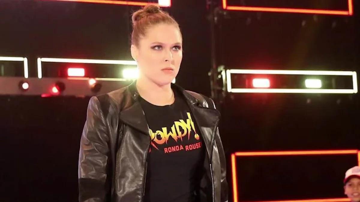 Ronda Rousey tem treinado com a filha de Roddy Piper
