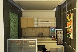 Jasa desain kios minuman warung makan sederhana