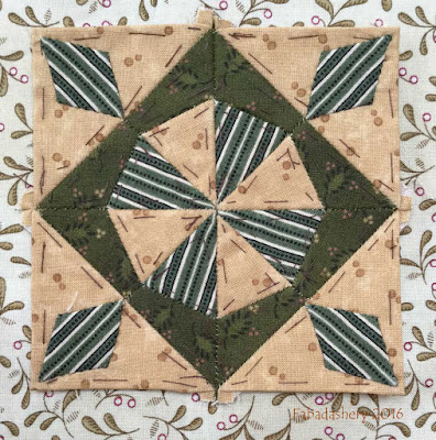 Dear Jane Quilt - Block F1 Big Top
