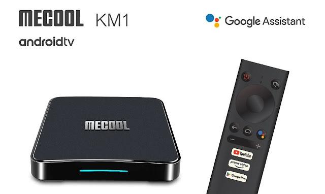 MECOOL KM1 ATV - A nova e certificada box da Mecool