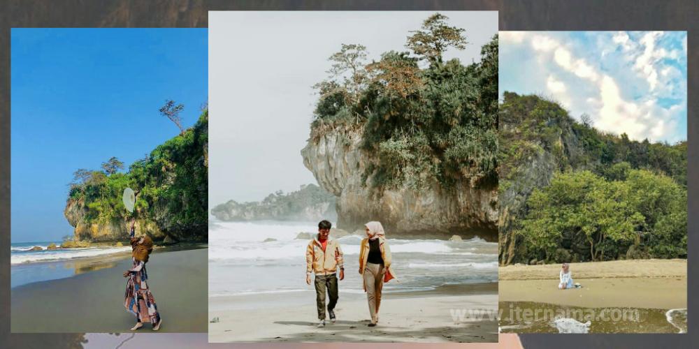 Wisata Pantai Goa Langgir Sawarna