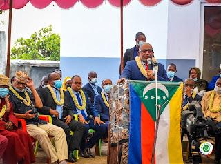 Mremani remercie le président Azali