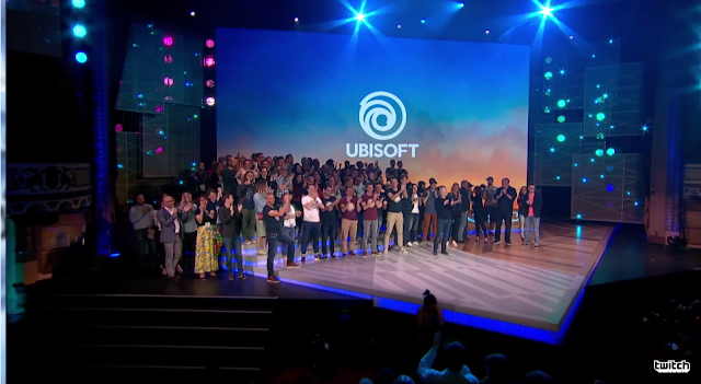 Ubisoft E3 2017 staff good bye stage employees