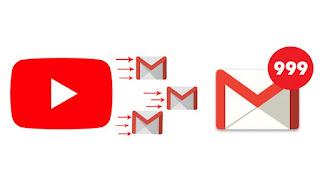 Cara Mengurangi Notifikasi Youtube yang Masuk ke GMail