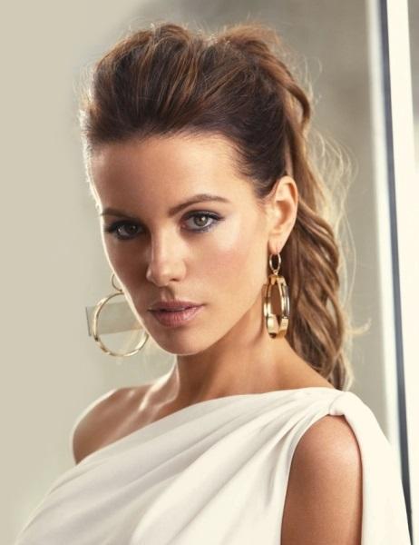 Moda cabellos media cola para mujeres j venes - Peinados de semirecogido ...