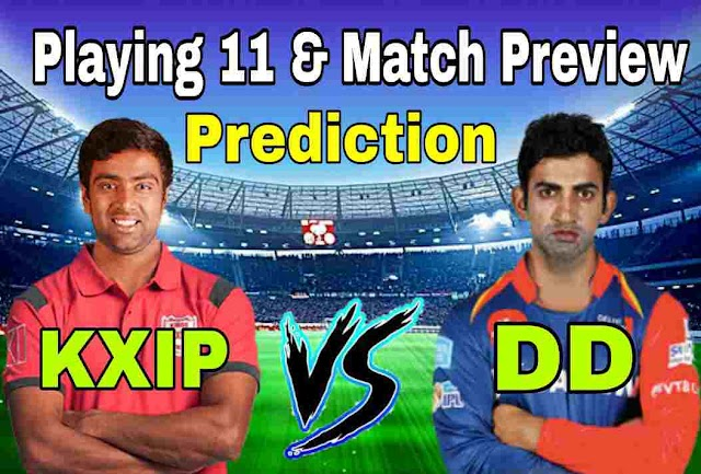 Punjab vs Delhi Match Prediction and Playing Eleven