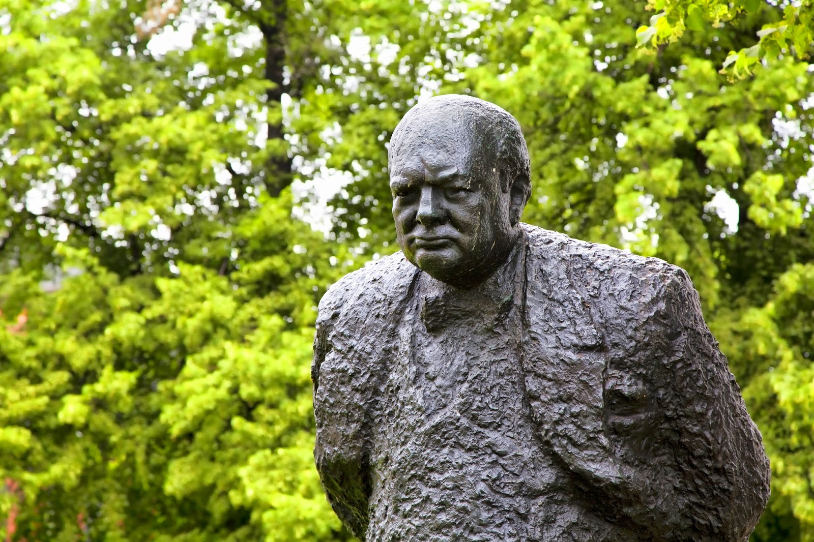 The Story Behind The Story Of Winston Churchill S Bust