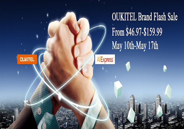 OUKITEL Flash Sale on Aliexpress, prices starting from $46.97