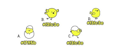Alt 1 Q 13. Which of these color birds are different from the rest?