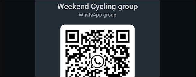 قم بإنشاء رمز QR لمجموعة WhatsApp