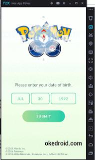 Tentukan Umur di Pokemon Go