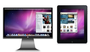 iPad can be used for pc secondary external monitor