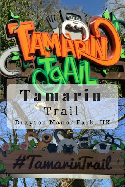 On The Tamarin Trail at Drayton Manor Park