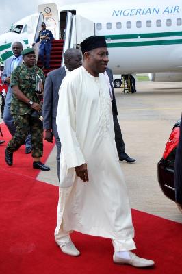 Goodluck Jonathan embarrassed himself