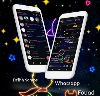 Black Blue Boy Theme For YOWhatsApp & Fouad WhatsApp By Driih Santos