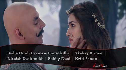 Badla-Hindi-Lyrics-Housefull-4