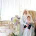 Pelamin Berendoi Cantik Majlis Akikah Aali Hasil Izzahbridalhouse Muar Johor