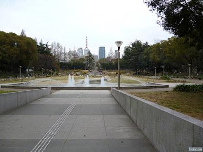靭公園噴水
