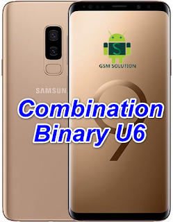 Samsung S9 Plus SM-G965F U6 Combination Firmware