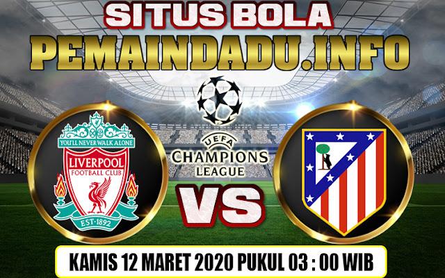 Prediksi Leg Kedua Liga Champions Liverpool Vs Atletico Madrid