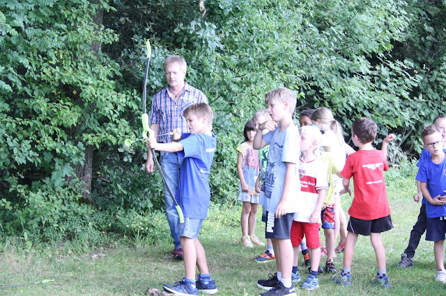Sommercamp Bogenschießen