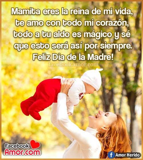 feliz día madre