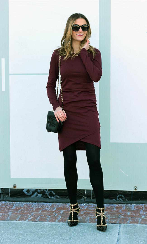 Bodycon Dress #dress #reddress #bodycon