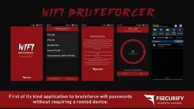 Wi-Fi Bruteforcer