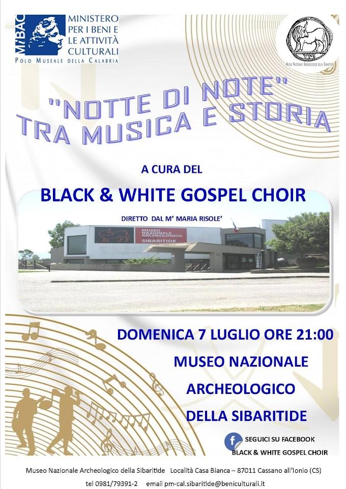 """A Cassano all'Ionio (CS) """"Notte di Note Tra musica e storia"""""""