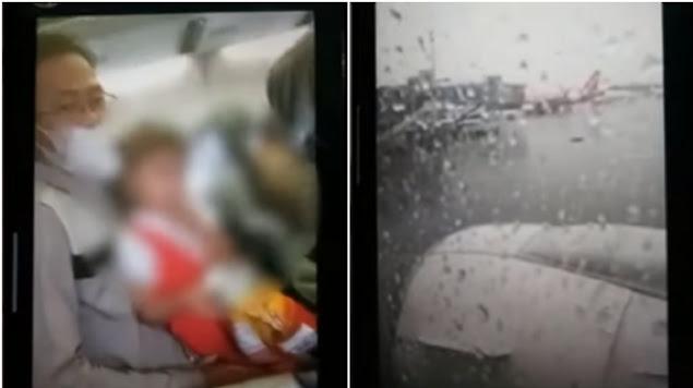 Rekaman Video Suasana di Dalam Sriwijaya Air SJ182 Sebelum Lepas Landas