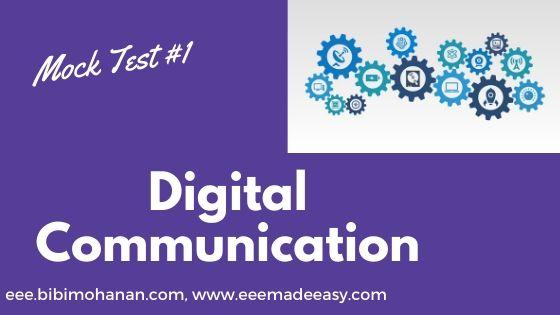 Polytechnic lecturer Mock Test| DigitalCommunication quiz
